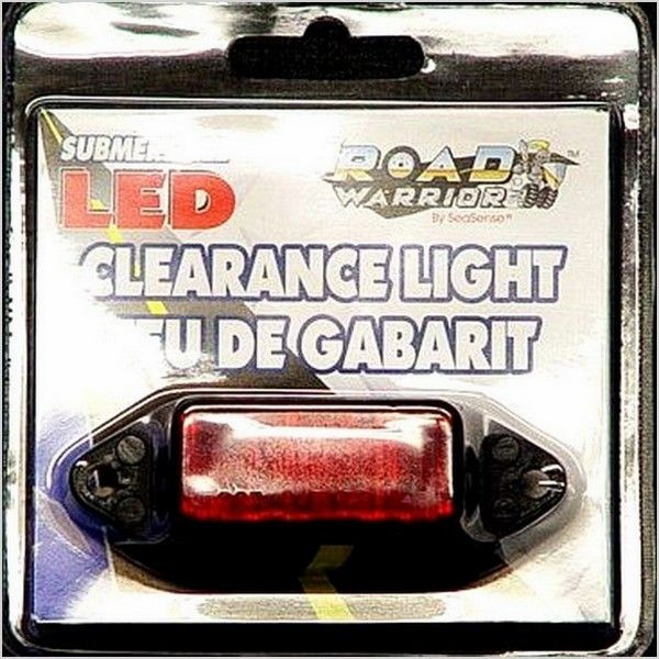 Road Warrior Submersible LED Clearance Light (Red)