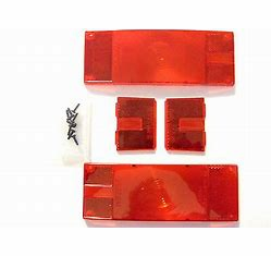 Wesbar Tail Lamp Replacement Lens Set