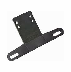 Wesbar License Plate Bracket (Universal Mounting)