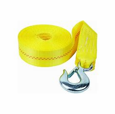 "Fulton Heavy-Duty Winch Strap & Hook 2"" X 20"""