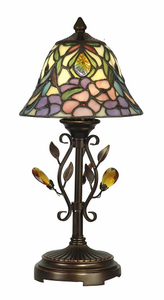 Crystal Peony Accent Lamp