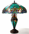 Seaside Victorian Double-Lit Table Lamp