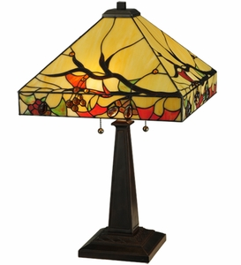 Woodland Berries Table Lamp