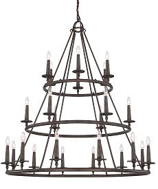 Voyager Chandelier, 3-Tiered