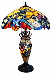 Dragonfly Double-Lit Table Lamp