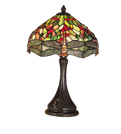 "Hanging Head Dragonfly 18"" Accent Lamp"