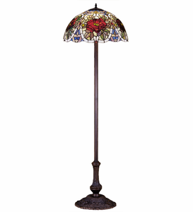 Renaissance Rose Floor Lamp
