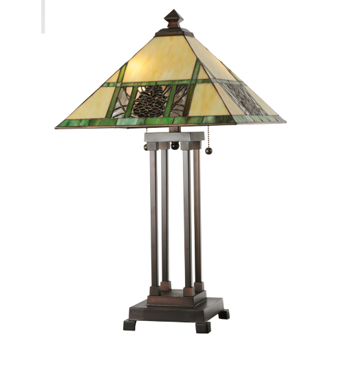 Pinecone Ridge Tall Table Lamp