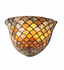 Variegated Fishscale Wall Sconce