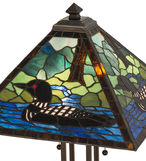 Loon Mission Style Table Lamp