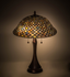 Variegated Fishscale Table Lamp