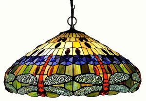 Hanging Dragonfly Pendant Lamp