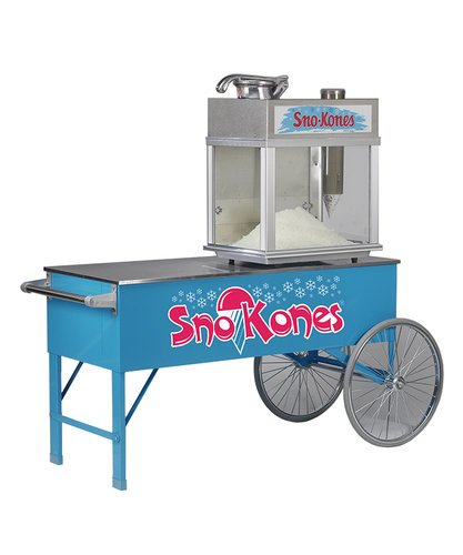 48-Inch Snow Cone Cart with Two Wheels