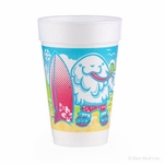 Snow Cone Cups and Straws