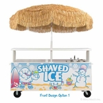 Vending Cart for Snow Cones & Shaved Ice