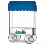 48 in. Shave Ice Wagon