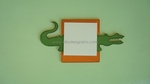 Gator<br>Sticky-Note Holder