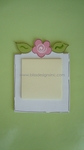 Flower<br>Sticky-Note Holder