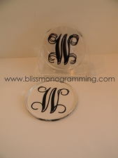 Acrylic Coaster Set (4)