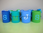 Koozie with Grosgrain Ribbon