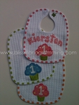 Hand-Painted Birthday Bib