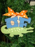 UF Gator<br>Christmas Ornament