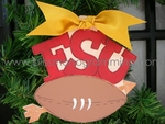 FSU Football<br>Christmas Ornament