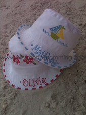 Hand-Painted Bucket Hat