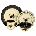 Pine Cone Dinnerware 16 Piece Set