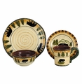 Bear Dinnerware 16 Piece Set