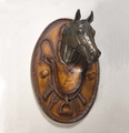 Large Horse Head Wall Plaque