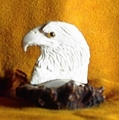 Small Eagle Bust