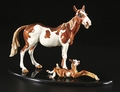 Cartoon/Whimsical Mare And Foal