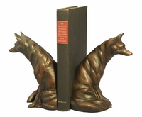Waiting Fox Bookends