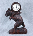 Back Pack Bear Clock