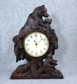 Bear Hugs Clock