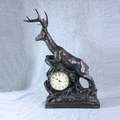 Leaping Deer Clock