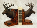 Elk Head Bookends