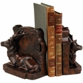 Laying Stag Bookends