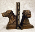 Pointer Head Bookends