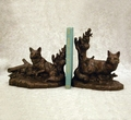 Resting Fox Bookends