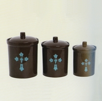 Cross Canister Set
