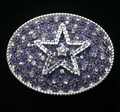 Crystallized Medium Oval Double Star