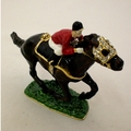 Swarovski Jeweled Race Horse Jewelry Box