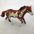 Swarovski Jeweled Brown Spotted Horse Jewelry Box