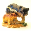 """KP """"Bear With It - Happiness Lies Ahead"""" Trinket Box/Necklace"""