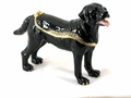 "Kingspoint ""Espresso the Labrador"" Trinket Box & Necklace"