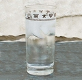 "West Creation ""Brands"" Water or TeaGlass 15 � Oz Set of 4"