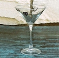 West Creation 7 oz Coordinating Martini Glass Set of 4