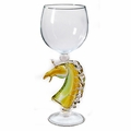 Horse Head Stem Wine Glass